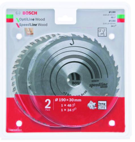 Bosch Lame de scie circulaire PACK 190X30
