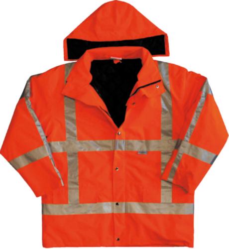 M-Wear Hoge zichtbaarheid parka 0986 0986 Fluorescerend oranje M