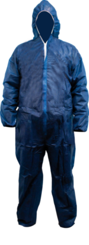 Wegwerpoverall Marineblauw XL
