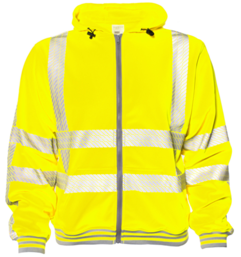M-Wear High visibility sweater 6230 Fluorescent yellow XL
