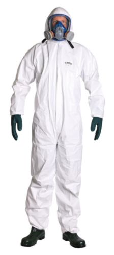 M-Safe Disposable coverall TYPE 5/6 8200 White M
