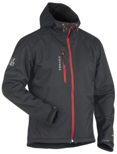 Blaklader Softshell jacket SOFTSHELL 4949 Dark grey/Red XS