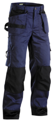 Blaklader Pantalon de travail P/K 1503 Bleu marine/Noir C60