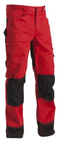 Blaklader Pantalon de travail 1523 Rouge/Noir C50