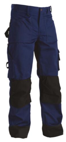 Blaklader Worktrouser 1523 Navy blue/Black C50