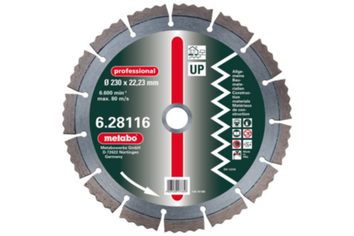 Metabo Diamond cutting disc 350X20,0MM UP