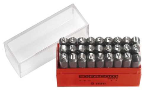 FAC SET LETTER PUNCHES 292A.3