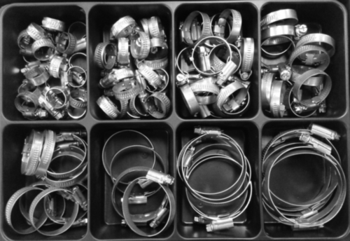 Assortment box steel MaxxFast Hose-clamp 8-70