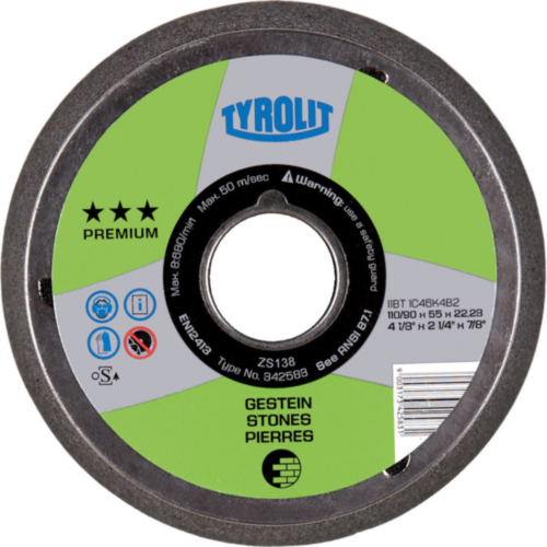 Tyrolit Cup disc 110/90X55XM14