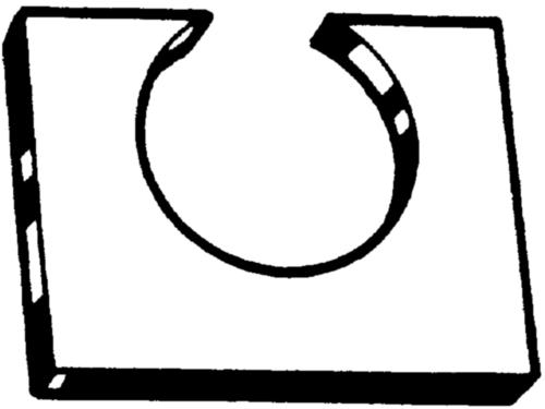 Opvulelement  Staal  Elektrolytisch verzinkt  CW