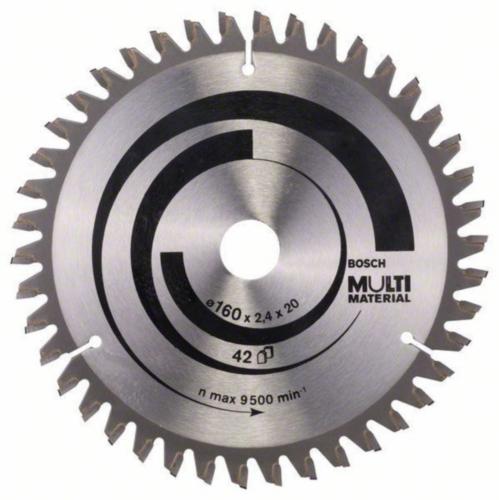 Bosch Hoja de sierra circular MULTIMAT 160X16 42T