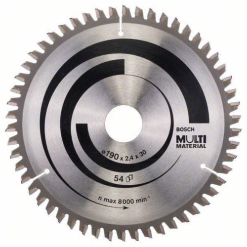Bosch Hoja de sierra circular MULTIMAT 190X30 54T