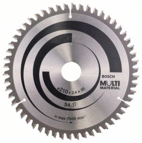 Bosch Hoja de sierra circular MULTIMAT 210X30 54T