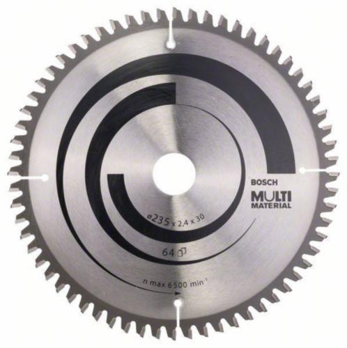 Bosch Kreissägeblatt MULTIM 235X30/25 64T