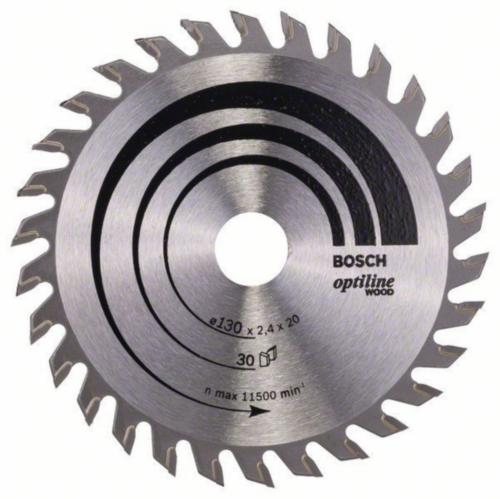 Bosch Circular saw blade OPTILINE 130X16 30T