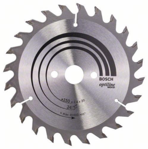 Bosch Circular saw blade OPTILINE 150X20 24T