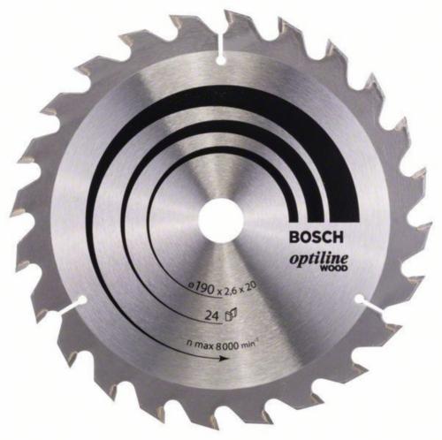 Bosch Lame de scie circulaire OPTLNE 190X20/16 24T