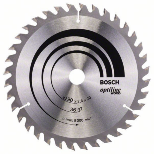 Bosch Lame de scie circulaire OPTLNE 190X20/16 36T