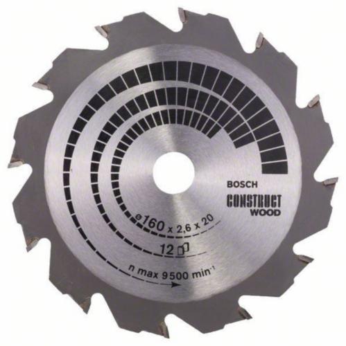 Bosch Lame de scie circulaire CONSTRW 160X30 12T
