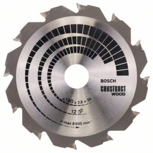 Bosch Lame de scie circulaire CONSTRW 180X30 12T