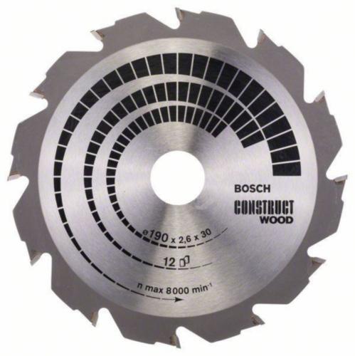 Bosch Lame de scie circulaire CONW 190X30/20 12T