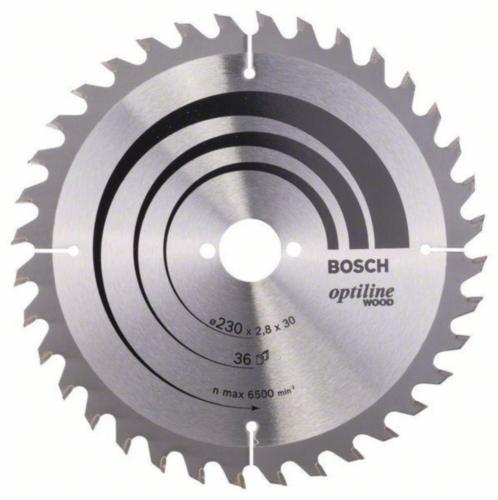 Bosch Lame de scie circulaire OPTILINE 230X30 36T