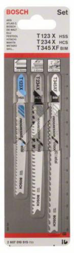 Bosch Jigsaw blade T123XF+T234X+T345XF