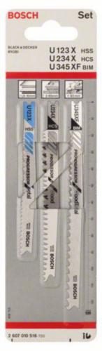 Bosch Jigsaw blade U123XF+U234X+U345XF