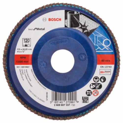 Bosch Lamellenschijf 40GRIT-125