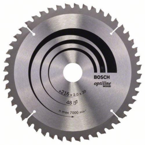 Bosch Hoja de sierra circular OPTILINE 210X30 30T