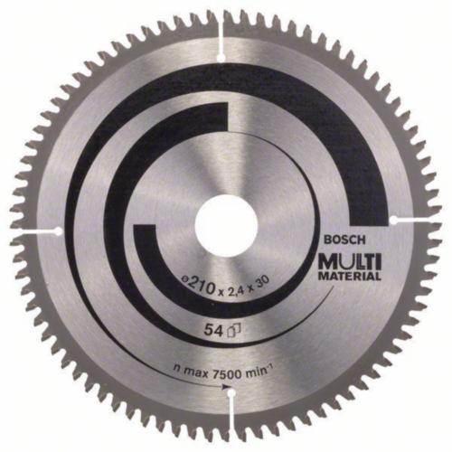 Bosch Hoja de sierra circular MULTIMAT 210X30 80T
