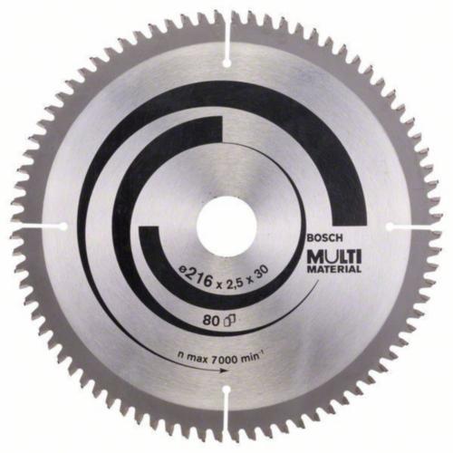 Bosch Kreissägeblatt MULTIMAT 216X30 80T