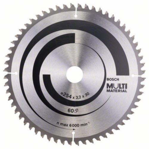 Bosch Hoja de sierra circular MULTIMAT 254X30 40T