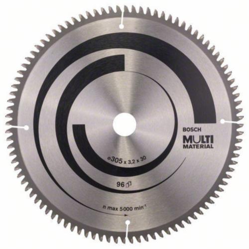 Bosch Hoja de sierra circular MULTIMAT 305X30 96T