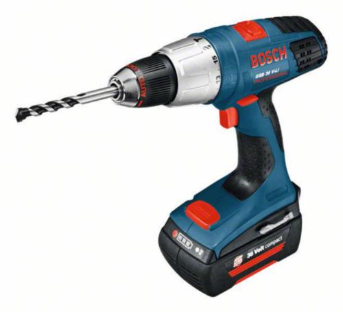 Bosch Cordless Impact drill GSB36V-LI(2ACCU)
