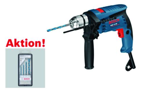 Bosch Akce - Elektrické nářadí GSB13RE + DRILLS