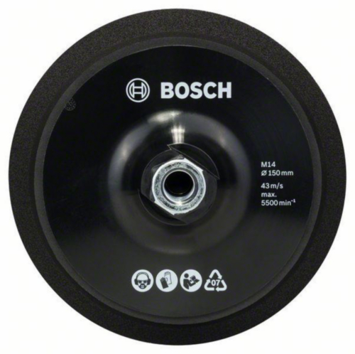 Bosch Support disc POLISHING PAD 150MM