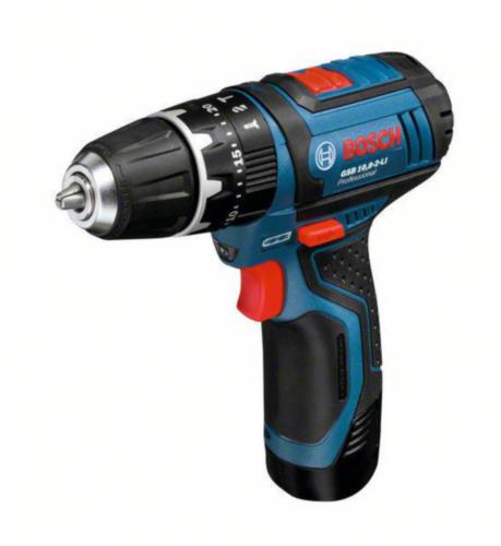 Bosch Cordless Impact drill GSB 10,8-2LI 2X2,0