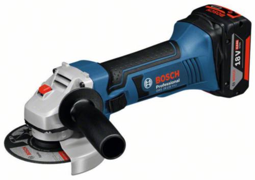 Bosch Accu Haakse slijper GWS18-125V-LI+1860CV