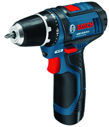 Bosch Cordless Taladro GSR 12-2+AL1130CV