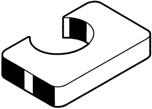Opvulelement  Staal  Thermisch verzinkt  P1 kort