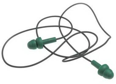 MSA Earplugs Green 10087450