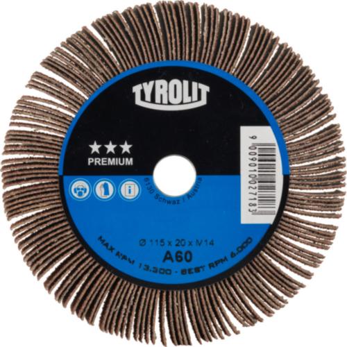 Tyrolit Flap wheel 115X20 M14 120