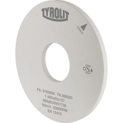 Tyrolit Disco desbarbado 400X80X127