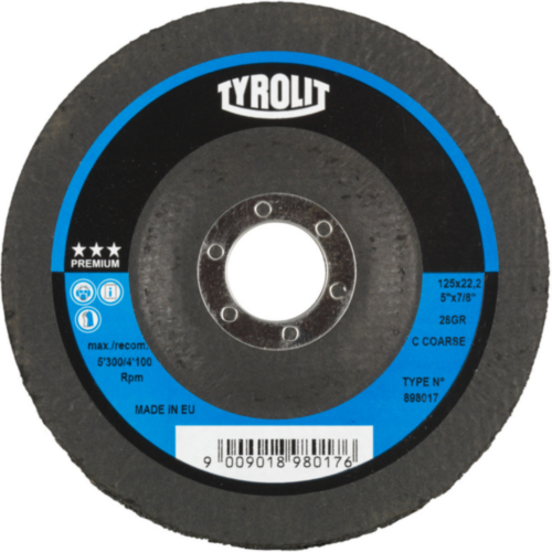 Tyrolit Schleifdisk 115X22,2