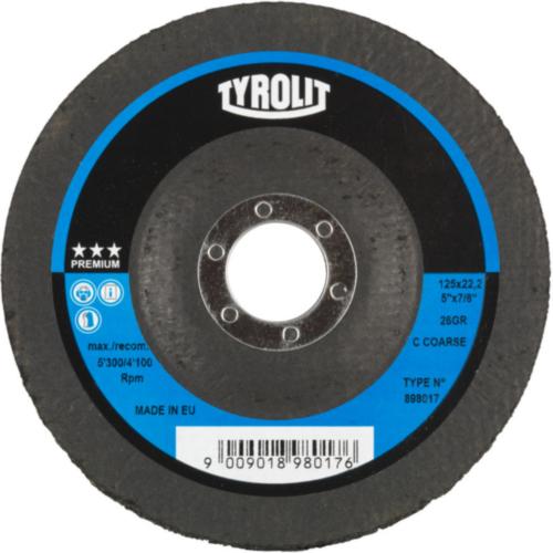 Tyrolit Schleifdisk 125X22,2