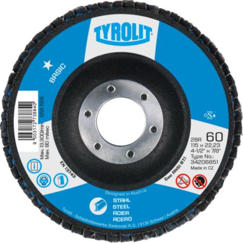 Tyrolit Flap disc 125X22,23 80