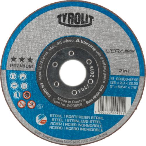 Tyrolit Disco de corte 150X1,3X22,23