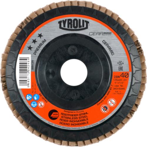 Tyrolit Disco de lamelas 125X22,23 80