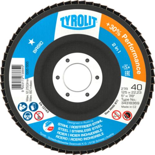 Tyrolit Flap disc 115X22,23 40
